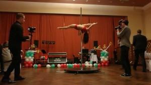 Pole dance vystoupení Ústí nad Labem